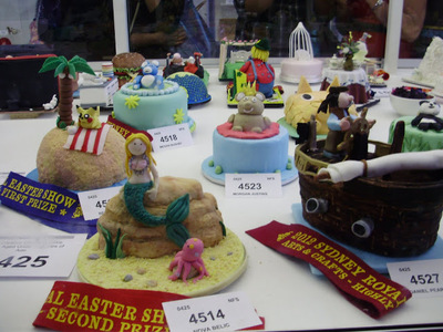 Winners of the cake competition