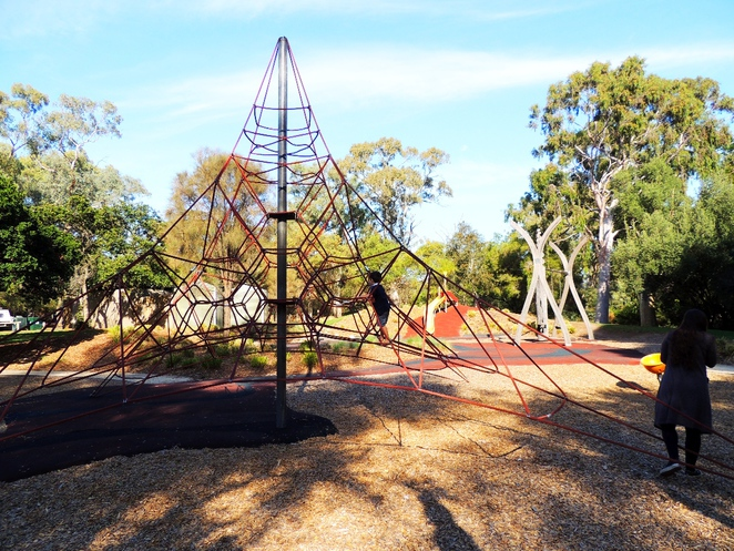 playground in, a playground, playgrounds, park in adelaide, adventure playground, play equipment, st kilda playground, climbing frame