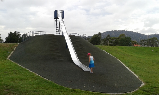 point hut playground, canberra, ACT, playgrounds in canberra,