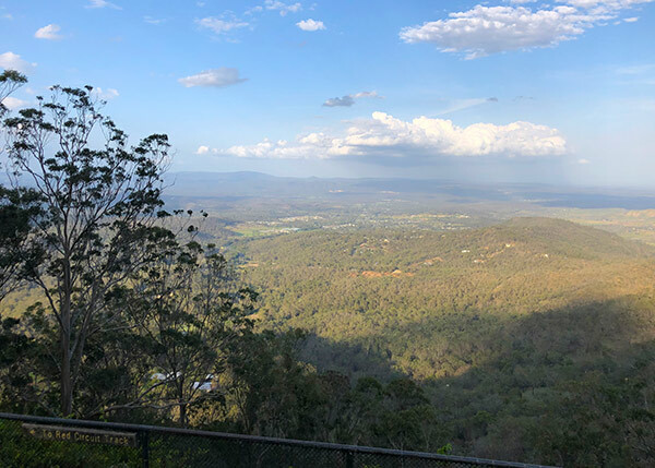 Point Lookout view, Toowoomba day trip
