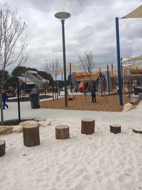 Robot Park Piara Waters Quirky Playgrounds Perth