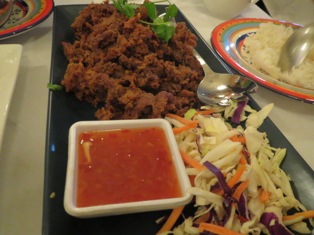Rundle Street, Café Michael 2, Crispy Beef, Adelaide