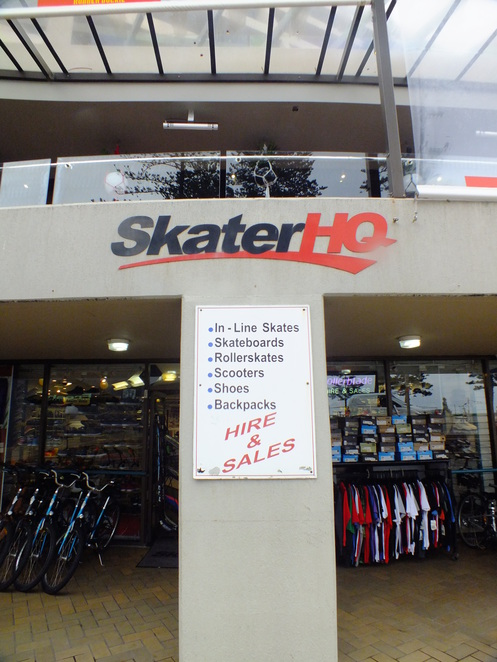 Skater HQ in Manly, Rollers for Hire Manly, Hire equipment in Manly, Roller blading Sydney, Bicycle in Manly, roller blading lessons in Manly
