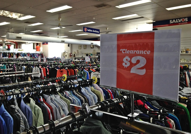 salvos, second hand clothes, ACT, fyshwick, woden, belconnen, recycled clothes, op shops, upcycled
