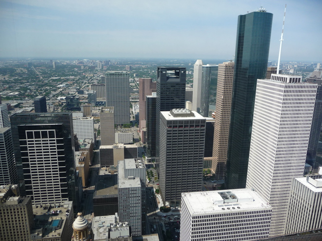 Sky Lobby Observation Deck View