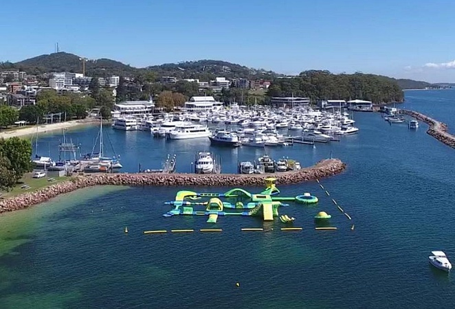 splash water park, nelson bay, whats on, port stephens, school holidays, kids, family, families, activities, cheap, summer, swimming, obstacle course, whats on