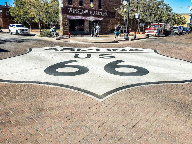 standin on the corner park, winslow, arizona, the eagles, take it easy the eagles, glenn frey, don henley, standing on a corner in winslow arizona, route 66 arizona