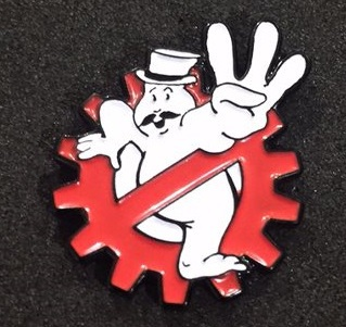 Steampunk Ghostbuster Pin