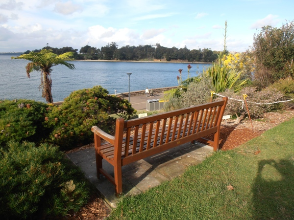 The Gardens provide awesome views over beautiful Sydney Harbour