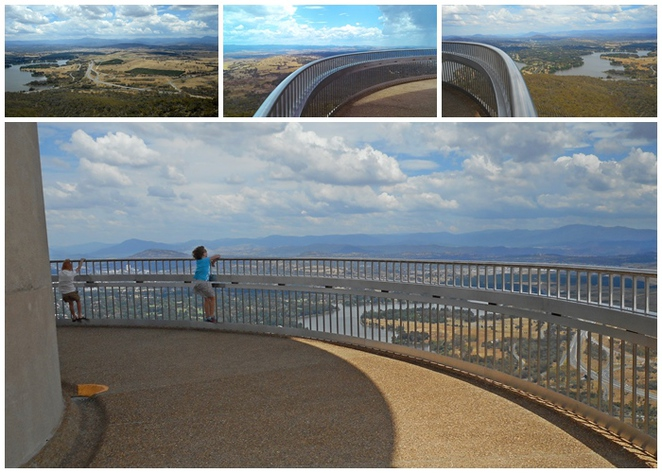 telstra tower, canberra, ACT, best views of canberra, lookouts, tower, black mountain, ACT, cafes,