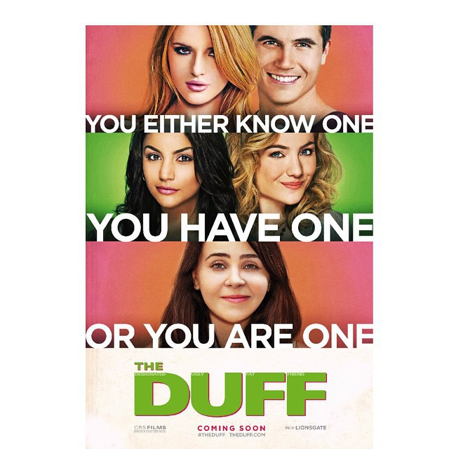 the duff, movie, teenage