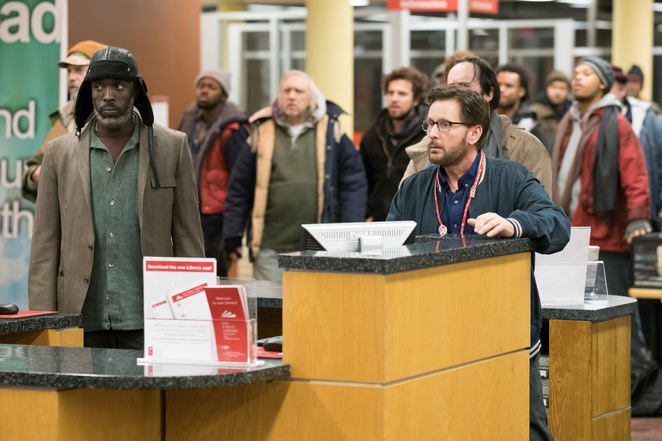 The Public, The Public film, The Public movie, The Public film review, The Public movie review, Emilio Estevez, Emilio Estevez films, American films, American movies, Movies about libraries
