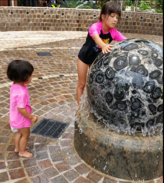 The Quarter at Casuarina Square, toddler, water play, Darwin