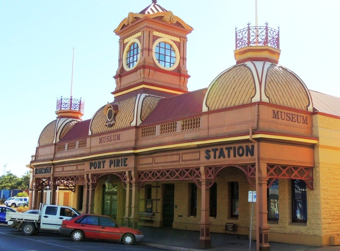 things to see and do, in south australia, flinders ranges, things to do, national trust sa, museums in south Australia, port augusta, things to do in port augusta, flinders ranges attractions, port pirie railway station