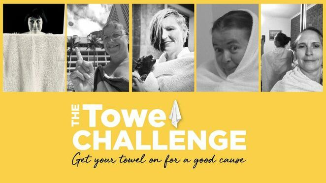 towel challenge 2020, the towel challenge 2020, community event, fun things to do, fundraiser, charity, stroke foundation, local hero, towel challenge australia 2020, donate to the stroke foundation, towel challenge pic, towel challenge photo, community involvement, free community fundraiser