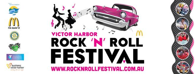 victor harbor rock 'n' roll festival 2018, community event, fun things to do, rock and roll music, vehicle displays, rock and roll memorabilia, market stalls, shopping, fun times, coastal views, mcdonald's victor harbor carpark, warland reserve, the runaway boys, dj dave the midnight rocker, festival cruise, mclaren vale to victor harbor, live music, twilight cruise, vehicle trophy presentation