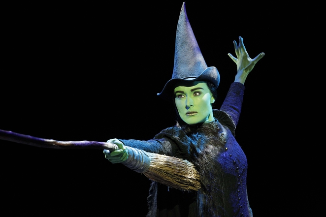 Jemma Rix playing Elphaba