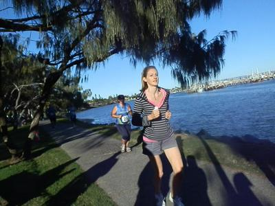 Some of the races will take you past the Mooloolah River/Image from Sunshine Coast Run Series