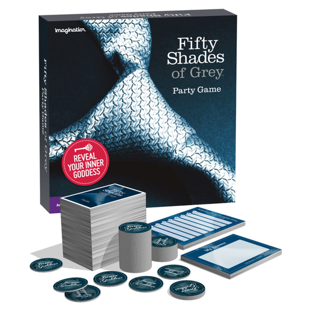 Fifty Shades Of Grey The Party Game Everywhere