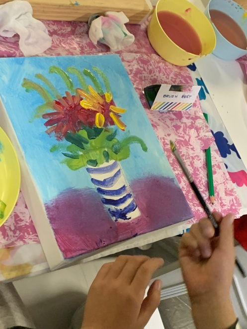 art exhibit, still life, kids art, children activities, art and crafts, painting for kids, Chatswood event