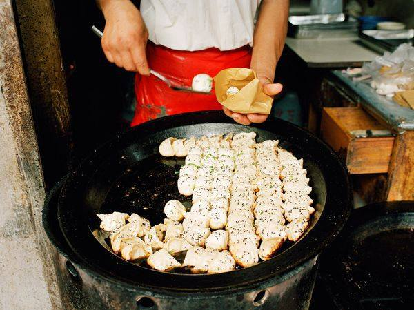 Correctly. asian street food video your place