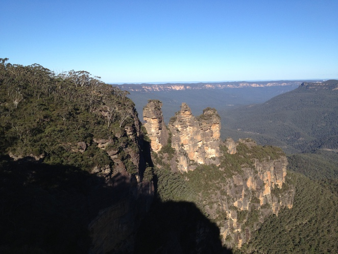 Blue Mountains, Three Sisters, Katoomba