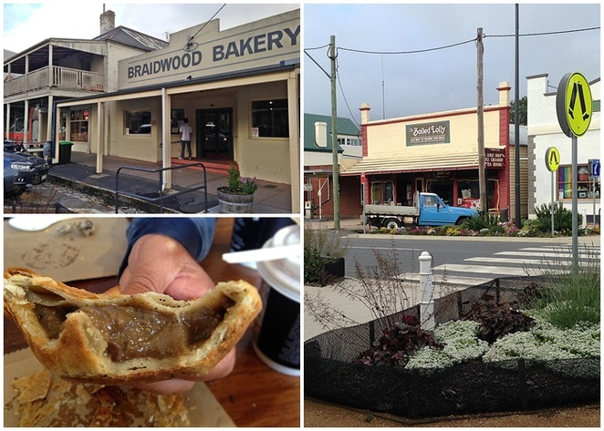 braidwood, pies, trappers, NSW, canberra road trip, best pies, murramarang beach resort, NSW< batemans bay, highway to batemans bay,