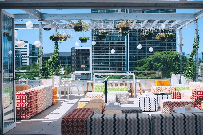 brisbane rooftop bars, best rooftop bars brisbane, up on constance, up on constance rooftop bar
