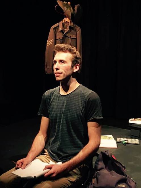 Buried at Sea, Performance, play, theatre, Tandanya, arts, Adelaide Fringe, 2017, ADLFRINGE, Mark Salvestro, Anzacs, memory, nostalgia, moving, sad, touching, review
