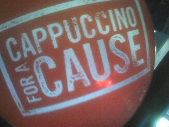 cappocino 4 a cause, gloria jeans this Saturday