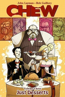 Chew, Chew Just Desserts, comics, Chew comic, Chu, comics about cannibalism, detective comics