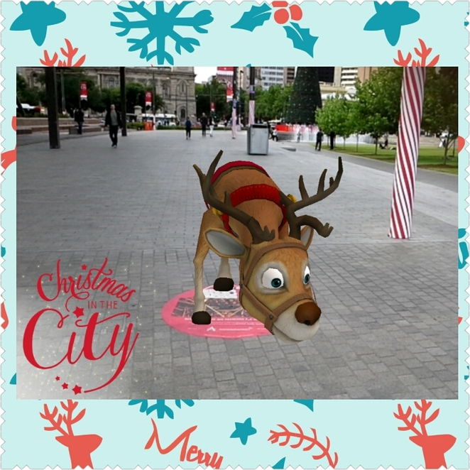 christmas in the city app, adelaide