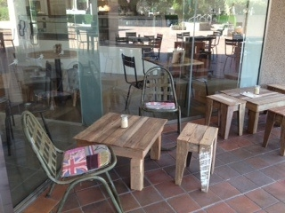coffee table cafe harvest hq brisbane cathedral