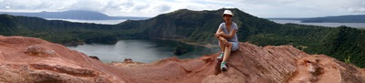 Crater Lake, Taal Volcano, Smallest volcano, Most active volcano
