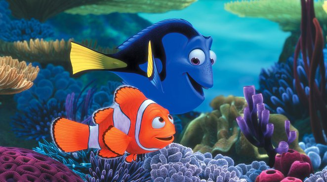 Disney Pixar's Finding Dory - Dory and Marlin
