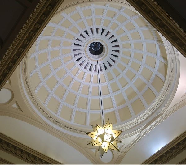 dome, cupola, geodesic dome, geodesic, architecture, customs house, Naldham house, church, long room, cross
