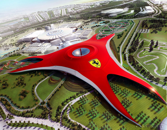 ferrariworld, abu dhabi ferrari world