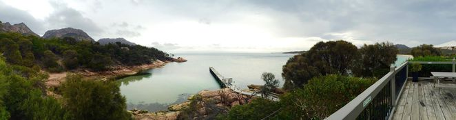 Freycinet Lodge, Tasmania, Freycinet, accommodation within a national park, cabins