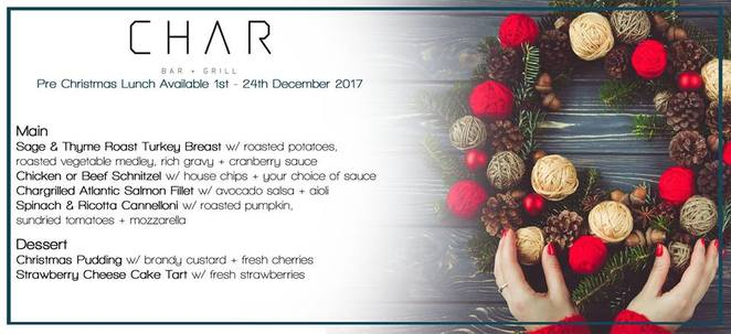 highlander hotel 2017 christmas pre lunch deal