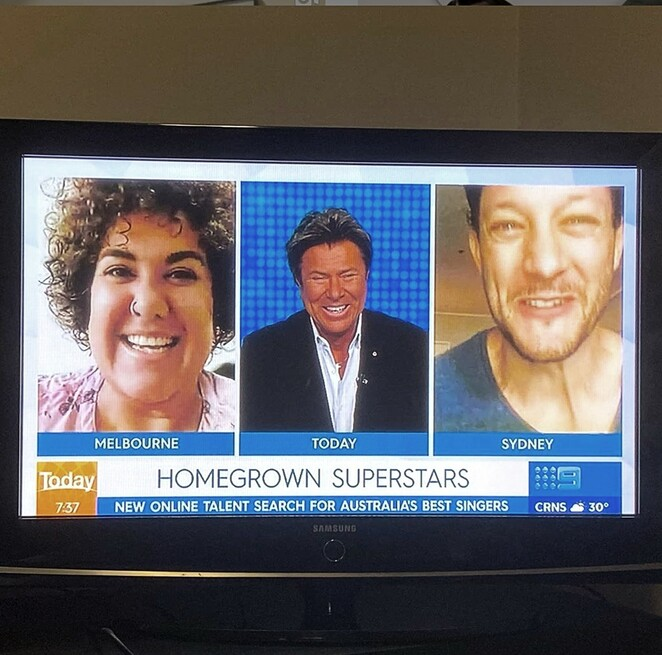 homegrown superstars australia 2020, community event, fun things to do, singing contest, performing arts, singing stars, rob mills, casey dononvan, charity, fundraiser, buy aussie now, mitch catlin, instagram singing competition, win prizes, free singing competition online
