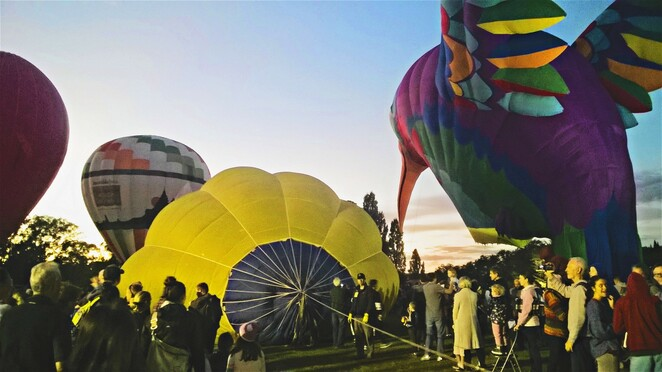 How to enjoy the Canberra Balloon Spectacular