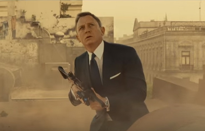 James Bond, Spectre, film review, Daniel Craig,