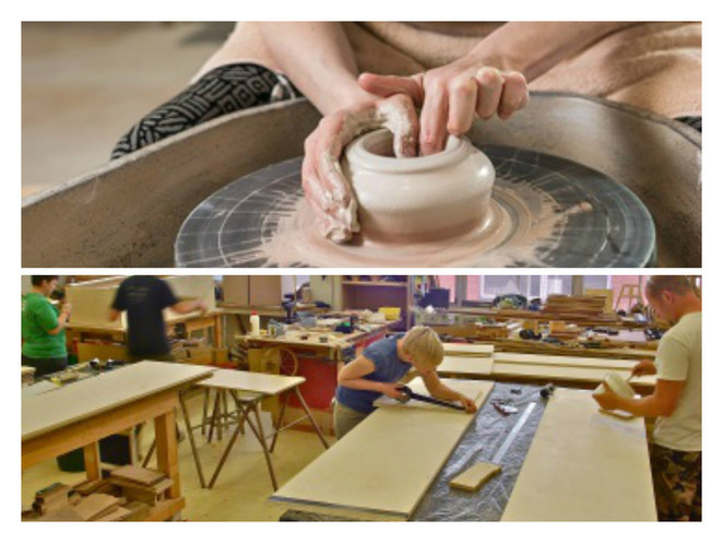jamfactory art craft studios workshops courses jewellery furniture glassblowing gallery woodwork