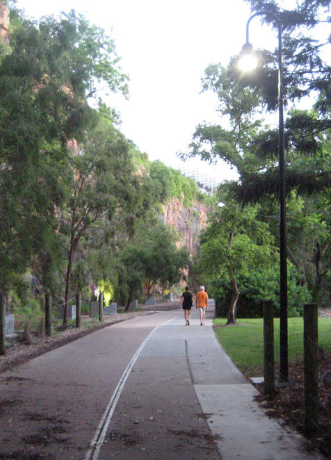 Walking at Kangaroo Point