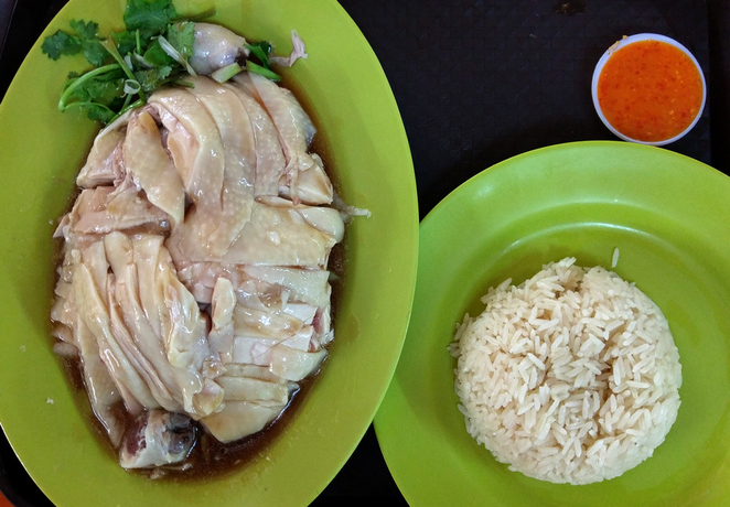 Maxwell Food Centre Singapore Maxwell Hawker Centre Chinatown Tian Tian Chicken Rice Laksa Roast Porridge Duck Delicious