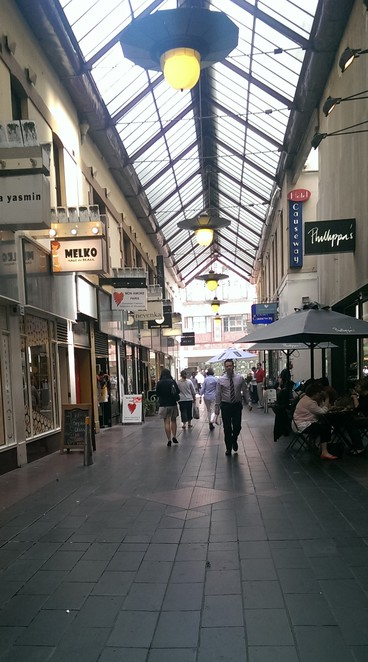 Melbourne Arcades and Laneways