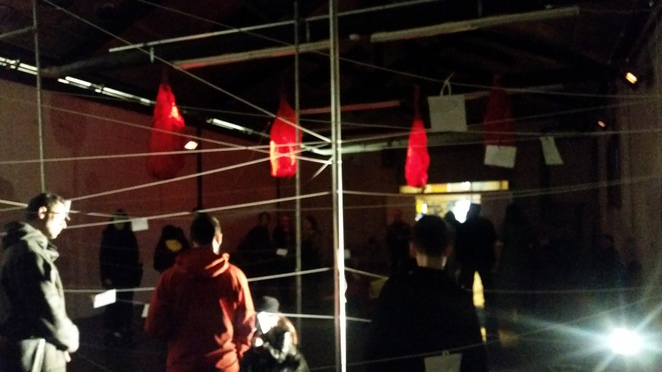 Melbourne Fringe Festival, Arts House, Meat Market, Upswing Arts, North Melbourne, Self Contained Spaces, Emerald City, Chinese, myth, storytelling, performance, installation, experiential, emotional intelligence, Emerald City, red string, fate, loss, grief, love, connection