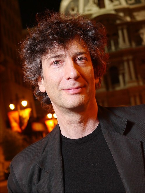 neil gaiman, American Gods, Good Omens, The Sandman, authors born in November, British authors