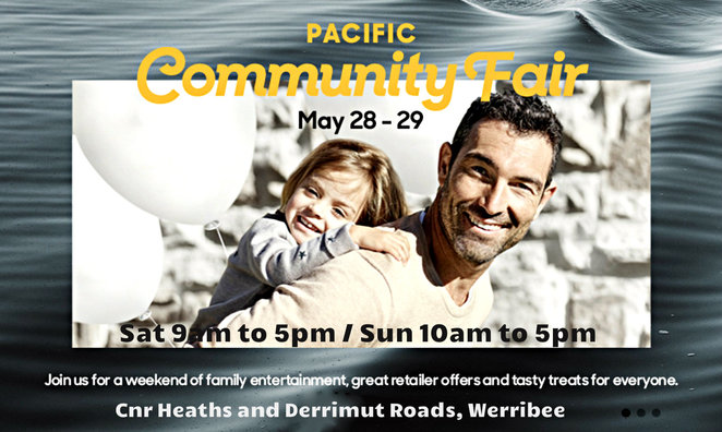 pacific werribee community fair, pacific werribee, the salvation army fundraiser, community fair, bike and blend, corey enright, mitch wallis, afl, kids activities, entertainment, shopping