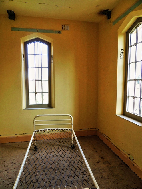 parkside lunatic asylum, adelaide studios, glenside hospital, parkside mental hospital, underground cellars, straitjacket, mentally ill, south australian film corporation, lunatic asylum, barred windows